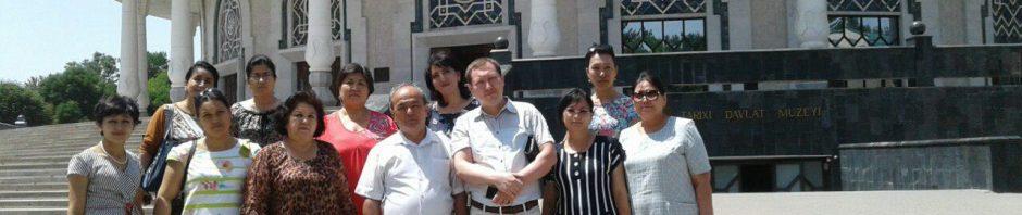 Тингловчиларнинг Амир Темур музейига ташрифи