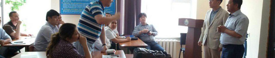 Dr.Cho ва Dr. Junho томонидан маъруза ташкил этилди